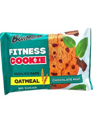 Bombbar Овсяное печенье Fitness Cookie 40g Шоколад-мята (40 г)