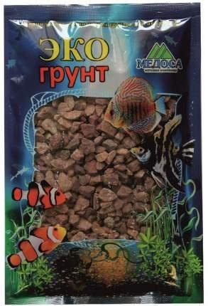 Грунт для аквариума ЭКОгрунт, Кварицит малиновый, 3-6 мм, 1кг