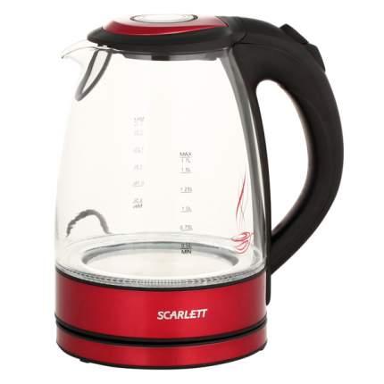 Чайник электрический Scarlett SC-EK27G99 Black/Red