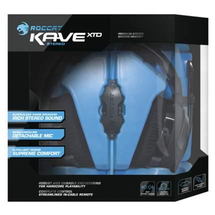 Игровые наушники Roccat Kave XTD Stereo (ROC-14-610) Cyan/Black