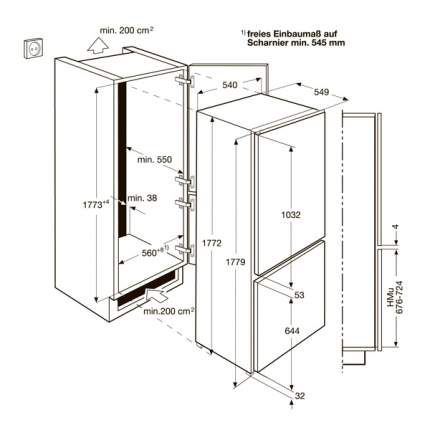 Встраиваемый холодильник Zanussi ZBB928465S White