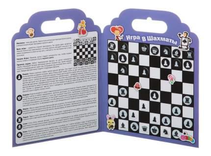 Набор наклеек нано-стикер игра в шахматы, Bondibon 19x24 см