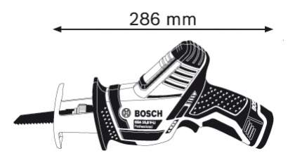 Аккумуляторная сабельная пила Bosch GSA 10,8V-LI (060164L972) 060164L972
