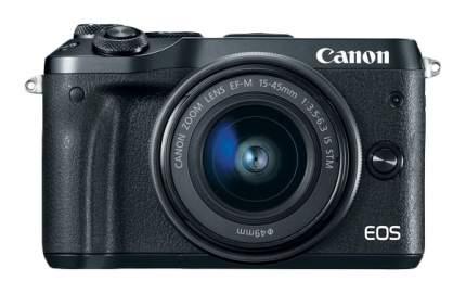 Фотоаппарат системный Canon EOS M6 EF-M15-45