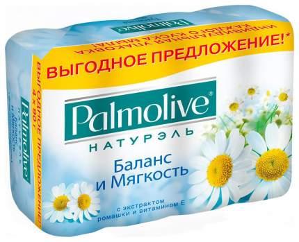 Косметическое мыло Palmolive Баланс и Мягкость с экстрактом ромашки и витамином Е
