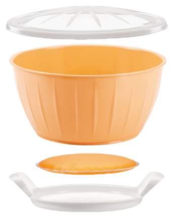Миска Tescoma Delicia 630381 Белый; Оранжевый