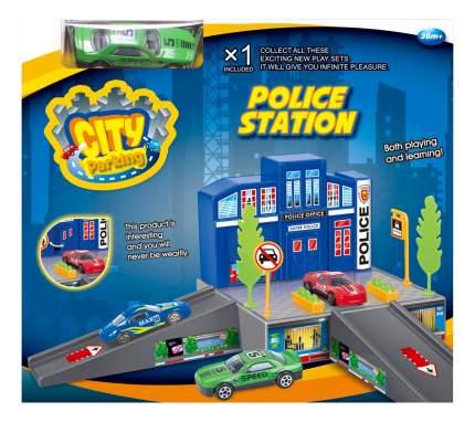 Парковка игрушечная Dave Toy Полицейский участок