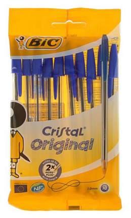Набор шариковых ручек Bic Cristal Original 10 шт, Блистер