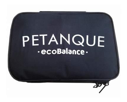 Игровой набор EcoBalance Петанк черный с золотом