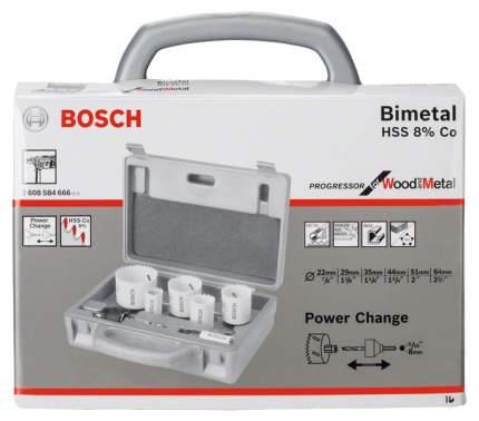 Набор биметаллических коронок Bosch 6ШТ 2608584666