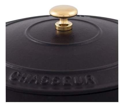 Кастрюля для запекания CHASSEUR Чугунная 3,8 л черный
