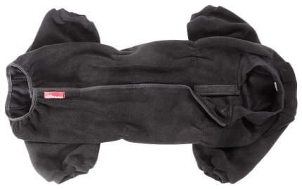 Комбинезон для собак OSSO Fashion размер XL мужской, черный, длина спины 37 см