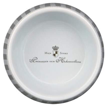 Одинарная миска для собак TRIXIE, керамика, серый, белый, 1 л