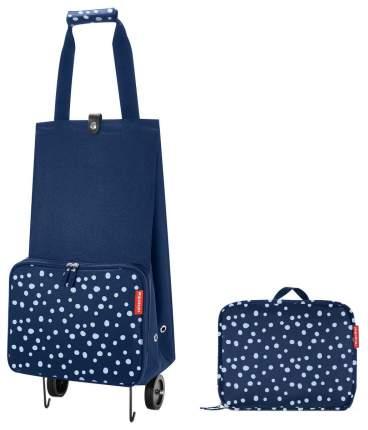 Дорожная сумка Reisenthel Foldable Trolley Spots Navy 29 x 27 x 66