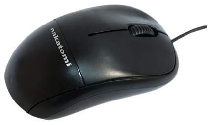 Проводная мышка Nakatomi MON-05U Black