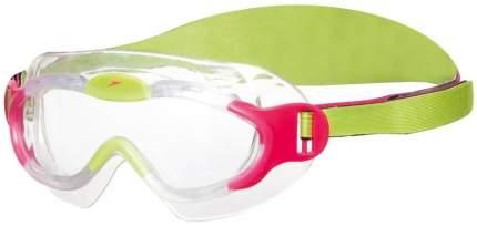 Очки-полумаска для плавания Speedo Sea Squad Mask, 2-6 лет, розовые/прозрачные (8028)