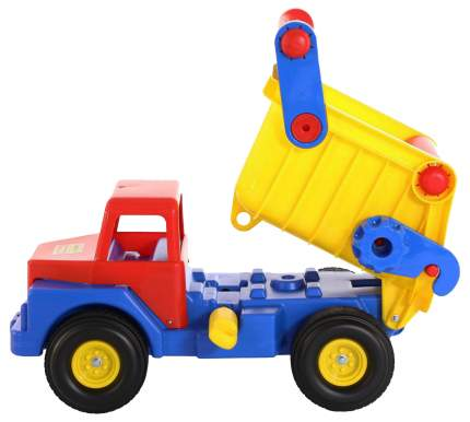 Автомобиль-самосвал Wader №1 с резиновыми колесами