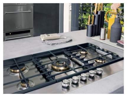 Встраиваемая варочная панель газовая KitchenAid KHSP5 86510 Silver