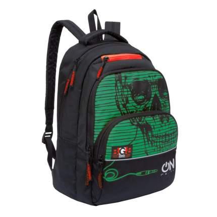 Рюкзак Grizzly RU-931-2 черный/зеленый 12,5 л