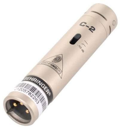 Комплект из 2-х микрофонов Behringer C-2