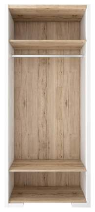 Платяной шкаф СтолЛайн STL_2017026600300 87х54х203,5, белый/дуб санремо