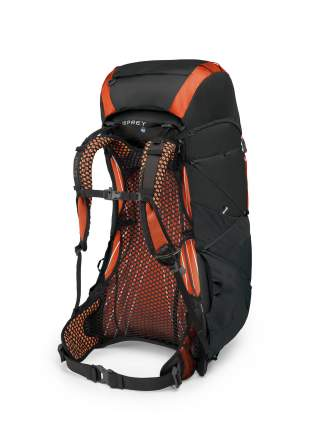 Рюкзак Osprey Exos 58 черный L 58 л