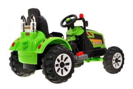 Детский электромобиль трактор на аккумуляторе Jiajia JS328D-Green