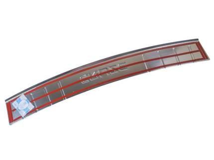 Накладка на задний бампер Chevrolet Cruze седан 2011-2013 Dollex NBI-001
