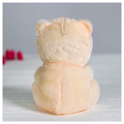 Мягкая игрушка Sima-Land Мишка с сердцем 4471234 Красный