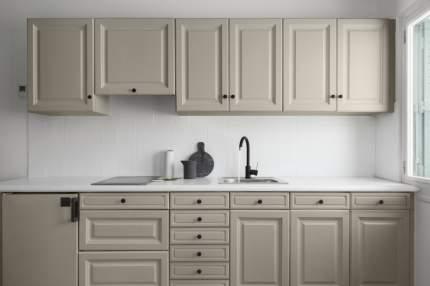 Краска V33 для стен и мебели на кухне RENOVATION Цвет крем-брюле
