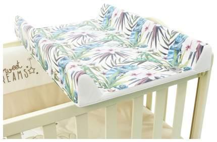 Матрац пеленальный Ceba Baby Flora & Fauna Camaleon Blanco W-200-099-542