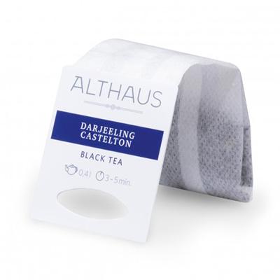 Чай черный в пакетах для чайника Althaus Darjeeling Castelton 20*4 г