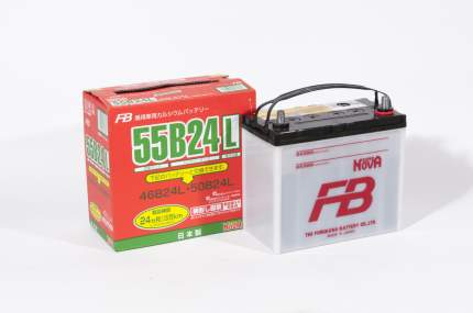 Аккумулятор автомобильный автомобильный Furukawa Battery SUPER NOVA 55B24L 45 Ач