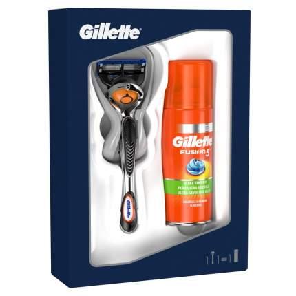 Подарочный набор Gillette Fusion5 ProGlide Бритва + 1 кассета + Гель для бритья 75 мл