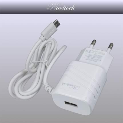 Сетевое зарядное устройство Navitoch USB/microUSB 1A White