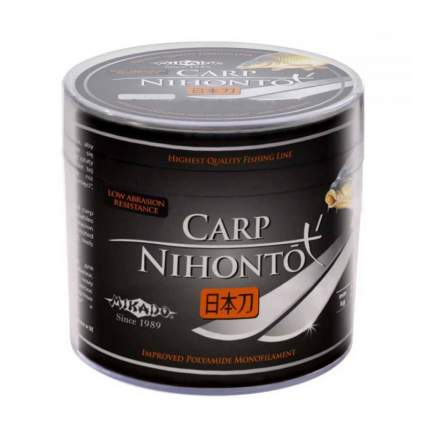 Леска монофильная Mikado Nihonto Carp 0,22 мм, 300 м, 6,4 кг