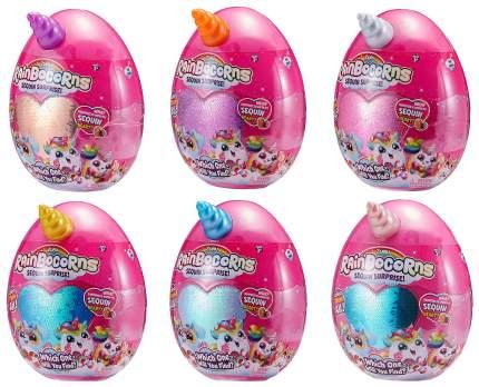 Мягкая игрушка Zuru RainBocoRns Большое яйцо-сюрприз 2 Т15683B в ассортименте