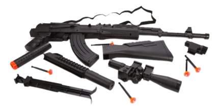 Автомат-трещетка Наша Игрушка Оборона ZYA-A2725-6 Серый