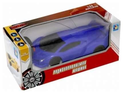 Радиоуправляемая машинка 1 Toy Спортавто Т13824 Синий