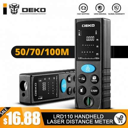 Лазерный дальномер (рулетка) DEKO LRD11-50m 065-0205