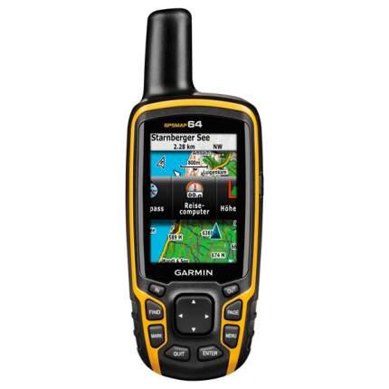 Туристический навигатор Garmin GPSMap 64 серый/желтый
