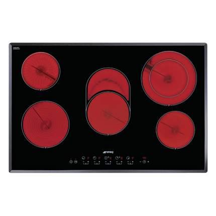 Встраиваемая варочная панель электрическая Smeg SE2773TC2 Black