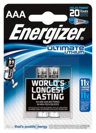 Батарейка Energizer Ultimate lithium AAA FSB2 2 шт