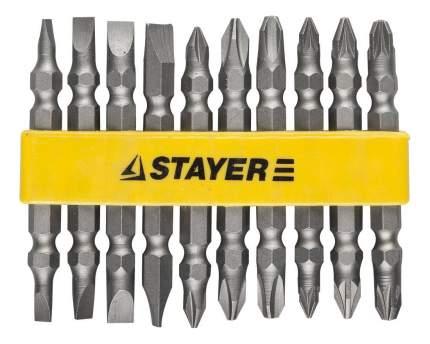 Набор бит для дрелей, шуруповертов Stayer 2605-H10_z01