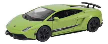 Машина Uni-Fortune 1:36 Lamborghini Gallardo LP570-4 Superleggera зеленый матовый