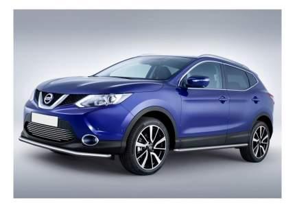 Защита порогов RIVAL для Nissan (R.4118.003)