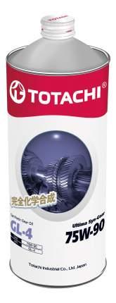 Трансмиссионное масло TOTACHI Ultima Syn-Gear 75w90 1л 4589904931543