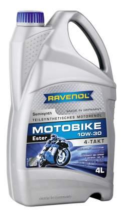 Моторное масло Ravenol Motobike 4-T Ester 10W-30 4л
