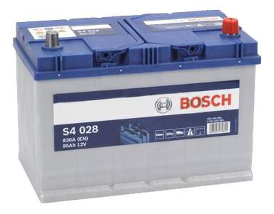 Аккумулятор автомобильный автомобильный Bosch S4 Silver 0 092 S40 280 95 Ач