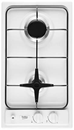 Встраиваемая варочная панель газовая Beko HDG 32210 W White